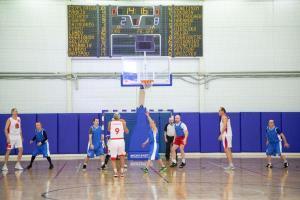 В Военной академии связи прошел баскетбольный матч офицерского состава с членами Правительства Петербурга