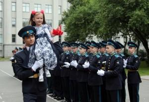 День знаний в первой в России  школе IT-технологий при Военной академии связи