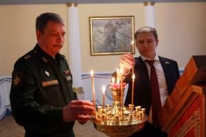 Депутат Госдумы Михаил Романов обсудил с руководством  ВАС строительство храма