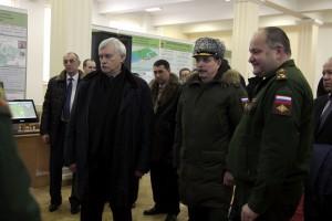 Губернатор Санкт-Петербурга посетил Военную академию связи