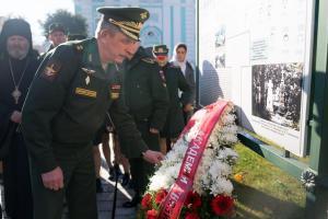 Курсанты Военной академии связи посетили  Свято- Троицкую Сергиеву Лавру