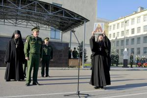 Академии связи передан образ святого Преподобного Сергия Радонежского