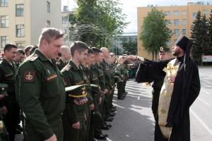 Торжественная церемония выпуска офицеров