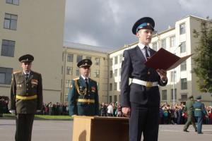 Более 600 курсантов первого курса Военной академии связи приняли присягу