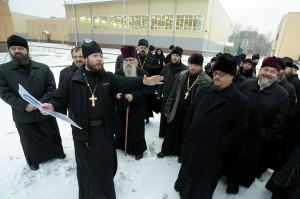 Сбор духовенства ЗВО в Военной академии связи