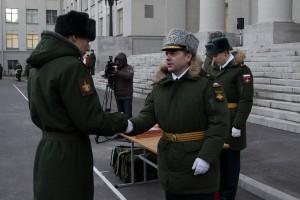 Первый выпуск операторов научной роты прошел в Военной академии связи