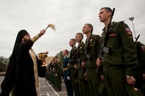 Первокурсники Военной академии связи дали клятву на верность Родине