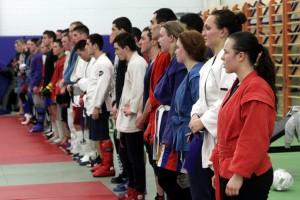 Совместную тренировку провели курсанты Академии связи и спортсмены клуба «Александр Невский»