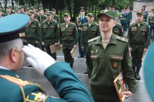 Выпуск операторов научной роты состоялся в Военной академии связи