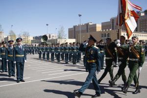 Торжественный выпуск в Военной академии связи